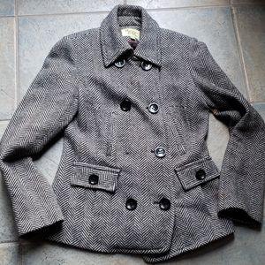 Maralyn & Me wool blend tweed coat